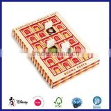 Cardboard stamped little doors advent calendar with plastic inlay for toys                                                                         Quality Choice