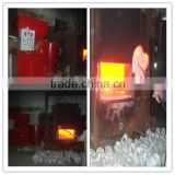 Supply Short Processing Time cost pellet machine / biomass aluminum melting furnace made in china