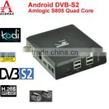 Acemax Ki S805 quad core dvb-s2 android and linux os dual boot tv box can linux boot with TF card