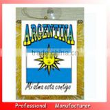 advertising banner,Argentine banner,popular bunting pennant with stucker