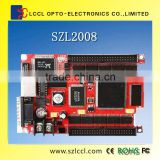 HOT/ SCL2008 control Card with two HUB / Support 4032*128 pixels/ Support WIFI function/ Net Port and Serial Port