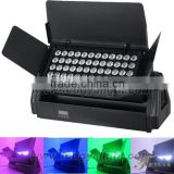 High Bright 48pcs*10W 4in1 led waterproof outdoor led city color light, 48pcs 10W RGBW waterproof LED city color light