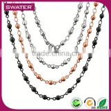 Custom Jewelry Wholesale Stainless Steel Nigeria Bead Necklace