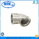 China supplier Forged nickel plated brass elbow factory for plastic pipe