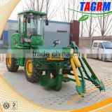 China good price automatic cane combine harvesting equipment/small sugar cane harvester for sale