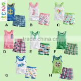 Baby Summer Clothes Set 2014 New Born Baby Gift 1 Set
