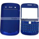 solar panel blue Full Housing for blackberry 9900
