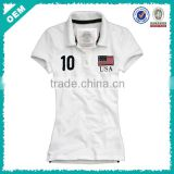 Custom Design Women Polo Clothing/Wholesale Cheap Women Polo Shirt/Dri Fit Ladies Polo ShirtS (lyt010119)