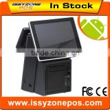 "IZP018 9.7"" Touch Screen Android Pos System With Embedded Printers Ibutton 3G + WIFI RFID Writer and Reader"
