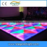China Factory Price 1mX1m High Brightness Dance Floor LED Tile Decorative Christmas Party Stage Lighting DMX Control For Sale