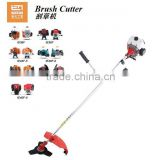 52cc brush cutter Gasoline Shoulder Brush Cutter Grass trimmer gasoline engine for bicycle