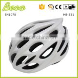 Ultralight Stable Road/Mountain Mens/Womens Bike Helmet-Pure White