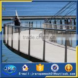protection mesh bridge handrail protection x-tend webnet mesh