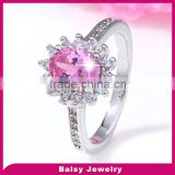 Best Selling Factory Direct high quality silver girls finger rings