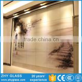 China Cheap Fusing Glass Glower Modern Glass Wall Art Decor