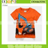 kids plain Crane neck t shirt girl t-shirt 100%cotton t-shirt Children's t-shirt hot seller kids clothing custom                                                                         Quality Choice