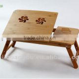 Bamboo laptop desk, folding laptop desk,Bamboo bed tray,bamboo laptop desk,laptop stand,bed stand,overbed tray