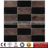 IMARK Electroplated Color Glass Mix Ceramic Mosaic Tiles (IXGC8-085) for back splash mosaic wall art