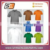 Stan Caleb 100% Polyester Dry Fit Tennis golf Polo Shirts/Wholesale Table Tennis Shirts