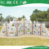 playground kids commercial used climbing wall, rock climbing wall outdoor toys