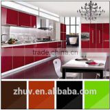 Different Designs Kitchen Cabinet with glossy mdf doors ( UV glossy doors & arcrylic glossy doos)