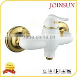 china plating white bath shower faucets