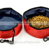 Travel Folding Collapsible Pet Bowl for food and water