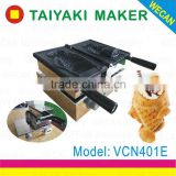 electric Ice Cream Taiyaki Machine CE approved fish Shape Taiyaki Waffle Making Grill with Pan for Taiyaki Recipe