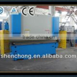 6mm thickness box hydraulic bender, metal folding machine WC67Y-160/3200,Perfect after-sale service
