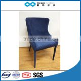 TB furniture Dining Table and Chair tufted blue for living room