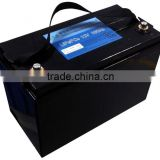 12V/100Ah Deep cycle over 2000 times of charge/discharge wind /solar energy system storage LiFePo4 lithium battery