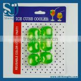 Trade Assurance 6Pcs ice cube cooler with blister Card Package