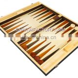 High Quality Inlaid Wood Traditional Backgammon Set