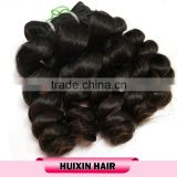 AAAAAA grade unprocessed virgin human hair suppliers , wholesale factory price blonde human hair weave