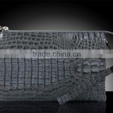 crocodile leather handbag for men luxury handmade clutch bag briefcase for mens