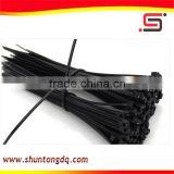 Heat-resistant wire black nylon cable tie/cable organizers/zip ties