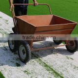 Hand Push Type Sand Infill Machine For Artificial Turf