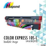 high quality COLOR EXPRESS 10S-L Konica 512 print head, 3.2 wide format solvent inkjet printer