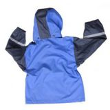 R-1022-1003 BLUE PU BOYS RAIN JACKET