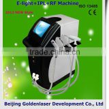 www.golden-laser.org/2013 New style E-light+IPL+RF machine jimpness beauty fat loss