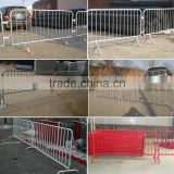 APHT indoor outdoor portable barricade fence-iron or aluminum pipe barricades,construction traffic police road barricade
