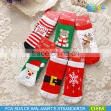 Hot Sales Cotton baby christmas socks wholesale Unisex baby socks fashionable Warmly socks