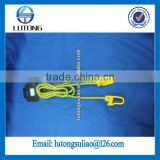 Hot sale 10mm*1.5M Baggage rope, elastic rope with hook