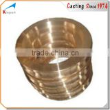 OEM brass cnc machined crimp sleeve,cnc machining brass parts,drawing brass sleeve machined parts
