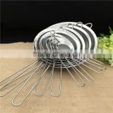 stainless steel wire mesh kitchen cooking deep frying basket chicken frying basket fried basket