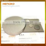 Microns Porous SS Stainless Steel Bronze Vacuum Suction chuck Plate
