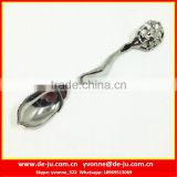 Small Shinny Silver Acorn Stainless Steel Spoon
