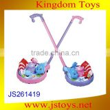 Plastic push wheel toy wholesale toy with CE certificate