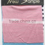 High Quality Wholesale 100% Merino Wool Striped Jersey& Rib Fabric