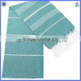 Wholesal best quality custom pestemal turkish hammam cotton towel